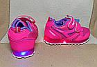 Кроссовки с разноцветными огоньками, р. 23 (14,3 см), фото 4