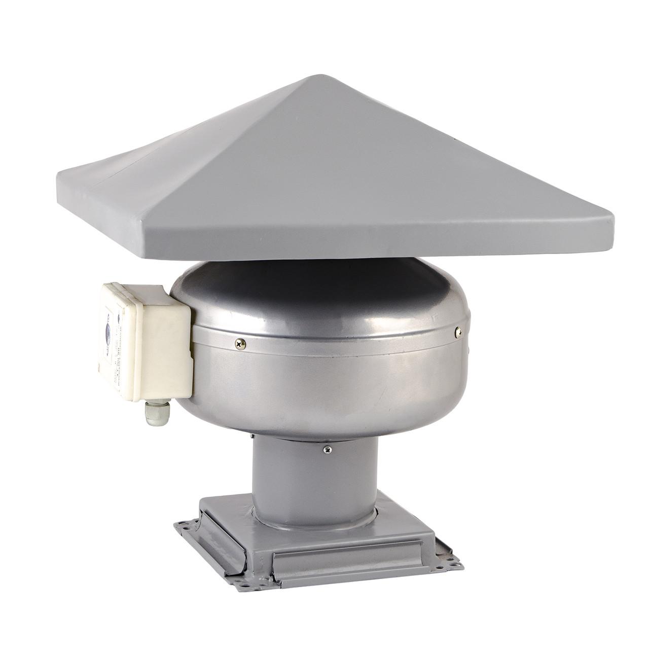 Крышный канальный вентилятор КВК 200