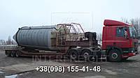 Международные перевозки негабаритных грузов Украина - Норвегия. Аренда трала. Негабарит