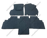 Текстильные коврики в салон Chrysler Voyager 2008-2016, 3шт. (Korona)