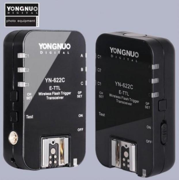 Радиосинхронизатор вспышек Yongnuo Yn-622 для Canon (2 шт)
