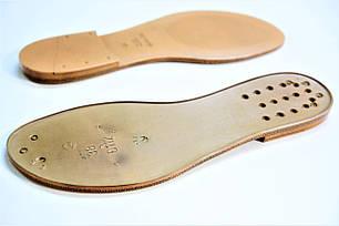 Подошва для обуви С112 бежевая р,36-41, фото 2