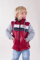 Комбинированная куртка для мальчика