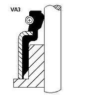 Сальник клапана (маслосъёмный) впускного KL0110155  CORTECO 19018203  NOK  KL0110155 на Mazda 626 abed7971fb319