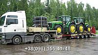 Международные перевозки негабаритных грузов Украина - Литва. Аренда трала. Негабарит