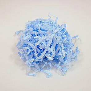 Бумажный наполнитель, голубой