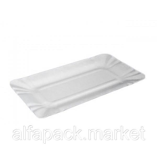 Тарелка из картона 14*20 см