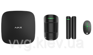 Расширенный стартовый комплект системы безопасности Ajax StarterKit Plus black