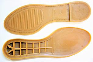 Подошва для обуви женская  Марина-7 беж р,36-41, фото 2