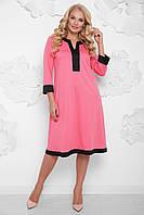 61fc82e1589 Женское платье большого размера Виктория fnc-1047