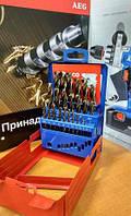 Набор свёрл по металлу HSS-G Cobalt DIN 338 AEG