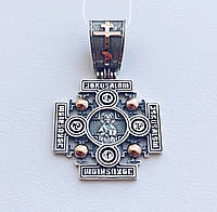 Иерусалимский крест из серебра с золотом, фото 1