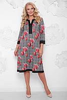 47472315c26 Женское платье большого размера Виктория fnc-1048