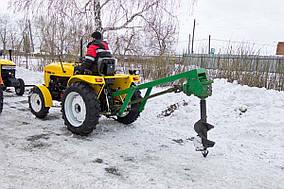 Бур тракторный ДТЗ 1W-30 (диаметр бура 30 см.)