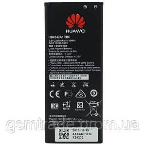 Аккумулятор Huawei Y5 II, Y6, Honor 4A, Honor 5A, HB4342A1RBC, (2200mAh)