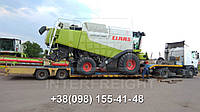 Международные перевозки негабаритных грузов Украина - Латвия. Аренда трала. Негабарит