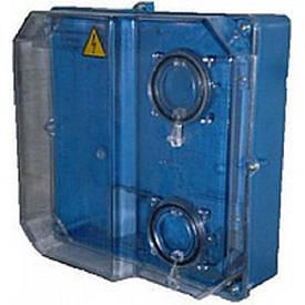 Коробка під 3-ф ліч. КДЕ-У ударостійка (синя)