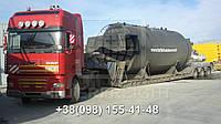 Международные перевозки негабаритных грузов Украина - Эстония. Аренда трала. Негабарит