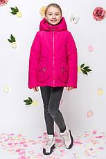 Детская демисезонная куртка для девочки vkd10, размеры 122-164, фото 2