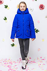 Детская демисезонная куртка для девочки vkd10, размеры 122-164, фото 3