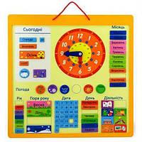Вкладыш Календарь 50377U Viga Toys