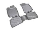 Полиуретановые коврики в салон Infiniti Q70 2013->, 4 шт.  (бежевый) (Novline)