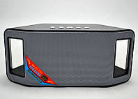 Портативная Bluetooth колонка WSTER WS-Y66B, радиоприемник колонка wster, музыкальная блютуз колонка, фото 1