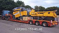 Международные перевозки негабаритных грузов Украина - Казахстан. Аренда трала. Негабарит