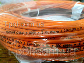 Нагревательный тонкий кабель Fenix adsv10 450Вт 45,9м чехия на 3 м2, фото 2