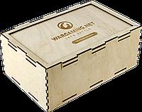 Коробка из фанеры 275х175х110мм, фото 1