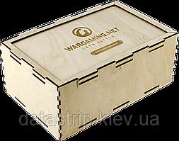 Коробка из фанеры 275х175х110мм