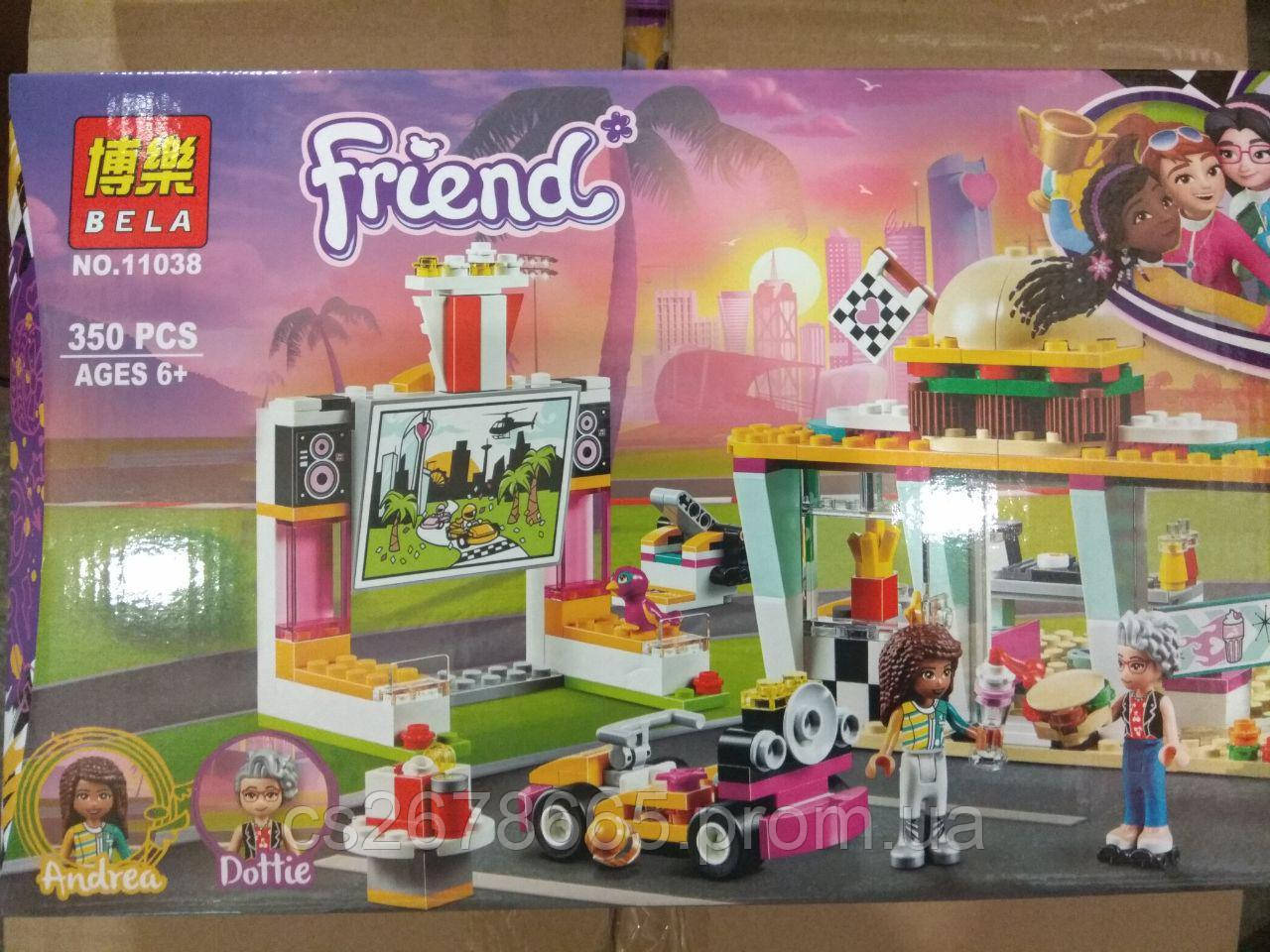 Конструктор Френдс 11038 (аналог Lego Friends 41349) «Передвижной ресторан» 350 дет.