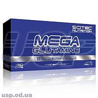 Scitec Nutrition Mega Glutamine Глютамин аминокислота для роста мышц спортивное питание