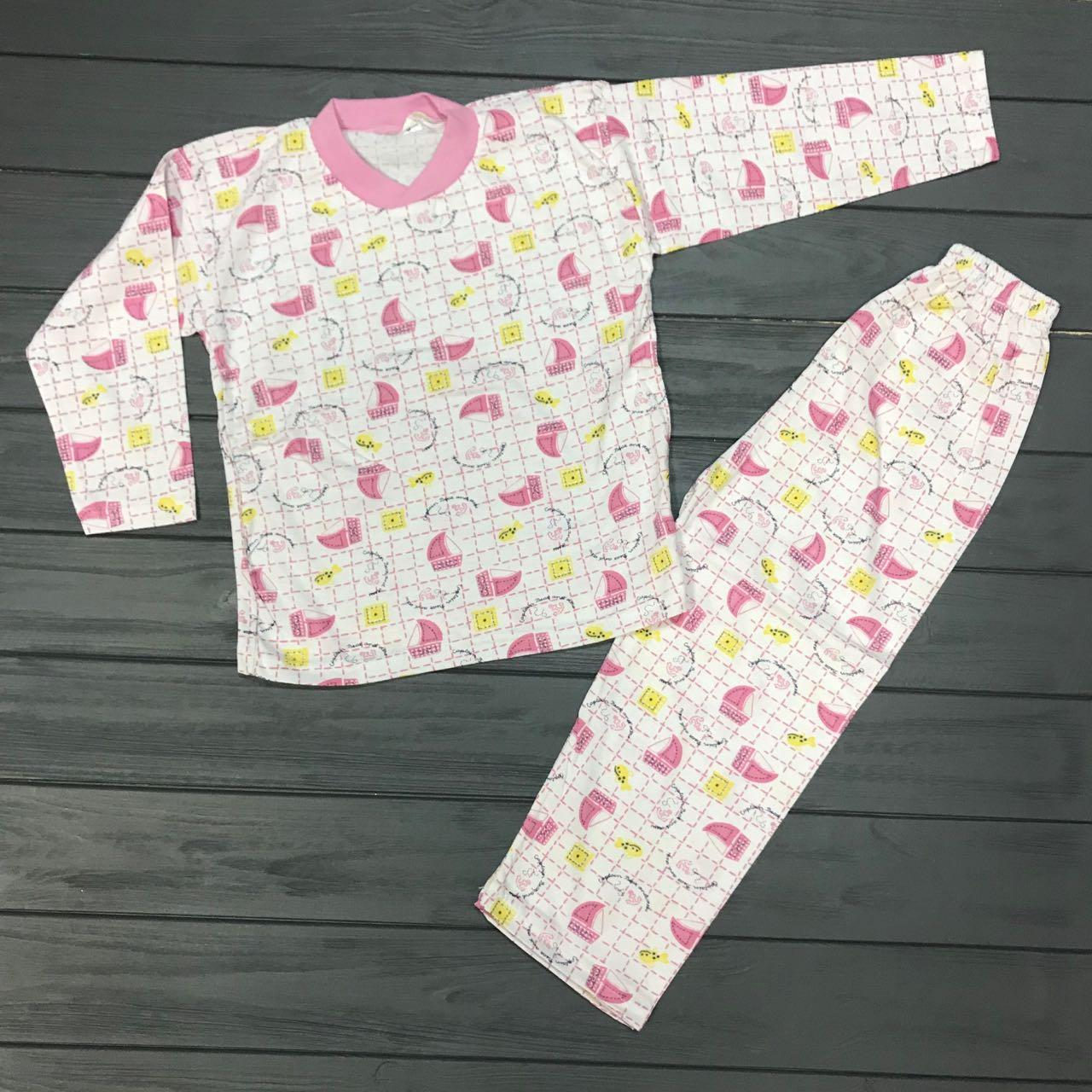 Детская одежда оптом Детская Пижама оптом р.6-7 лет