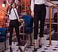 "Утеплённые женские брюки МОМ на флисе 41222 ""Креп Чинос"", фото 3"