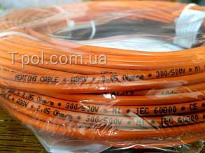 Нагревательный тонкий кабель Fenix adsv10 750Вт 75,8м чехия на 5 м2, фото 2