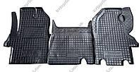 Полиуретановые коврики в салон Renault Master 2003-2010, 3 шт. (Avto-Gumm)
