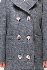 Детское пальто демисезонное для девочки vpd-7, размеры 122-152, фото 3