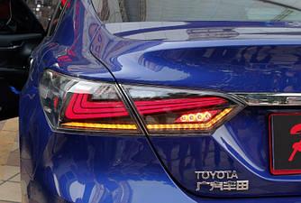 Фонари Toyota Camry 70 тюнинг LED оптика