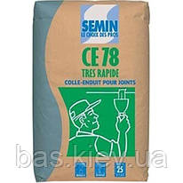 SEMIN CE-78 TRES RAPIDE Шпаклевка быстрого высыхания для заделки стыков ГКЛ, 25 кг