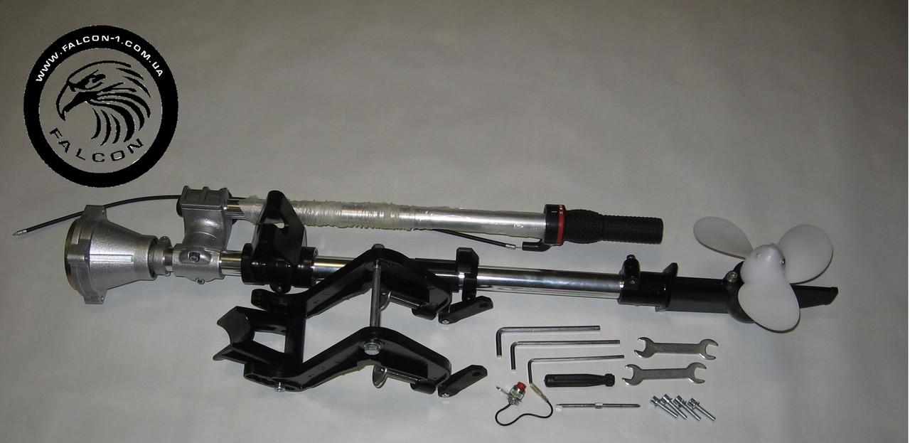 Насадка-весло для лодочного мотора (на мотокосу, бензокосу, триммер)