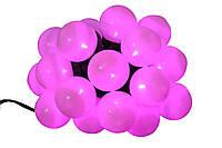 Новогодняя гирлянда 20LED, Длина 4m, Фиолетовый свет