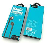Гарнитура / Наушники с микрофоном Celebrat D4 Magic Charm Black