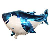 Фольгований куля Акула 56 х 95 див.