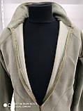 Кофта флисовая мужская на молнии, фото 3