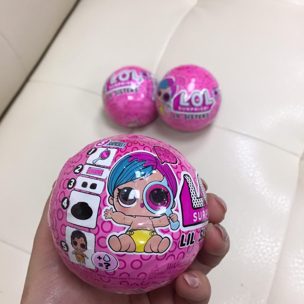 LOL Surprise Lil sisters игрушка шар ЛОЛ Сюрприз Сестрички Оригинал