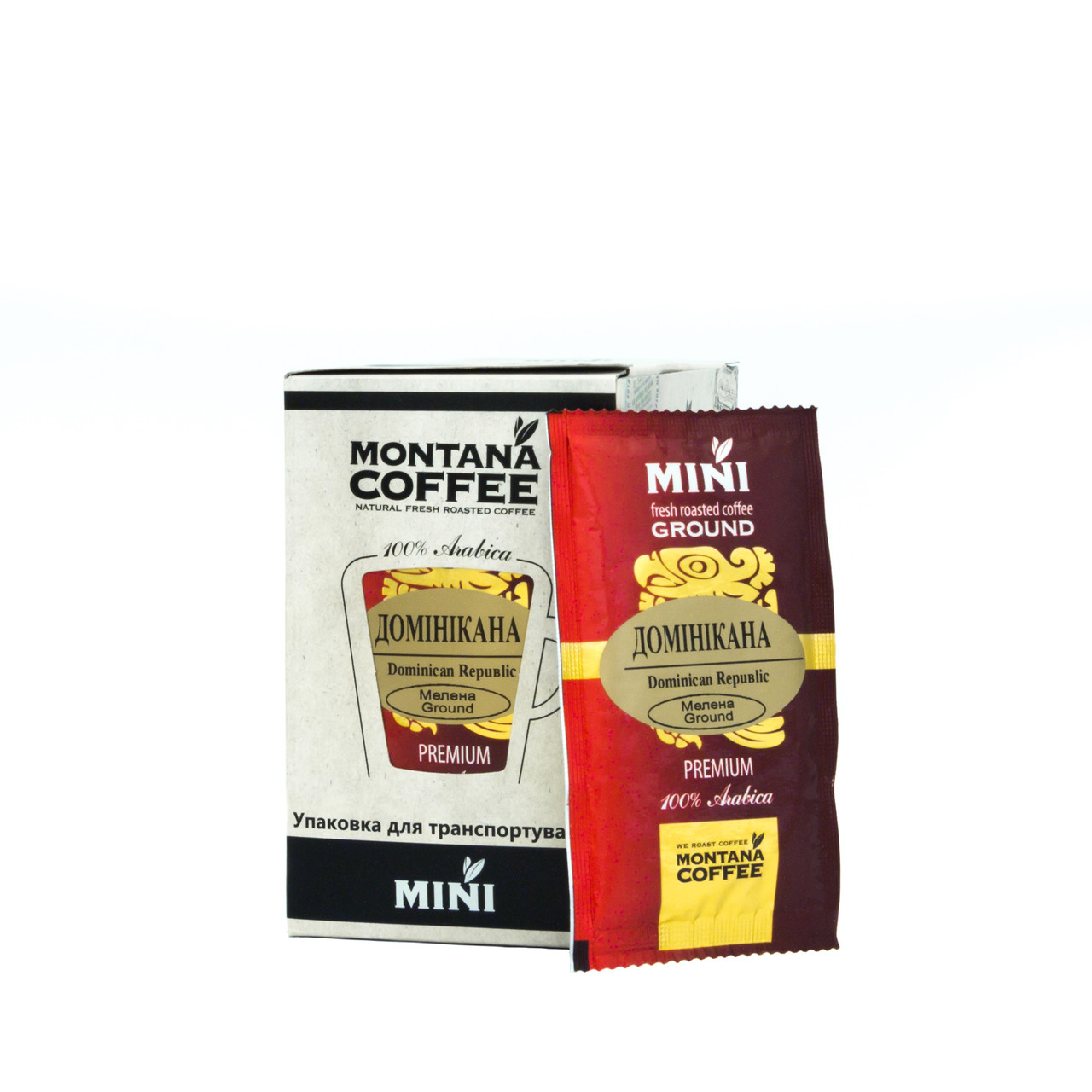 Доминикана Montana coffee MINI 20 шт