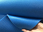 Коврик для йоги Polifoam (Полифом) голубой (0,6х1,73м, толщ. 5мм), фото 3
