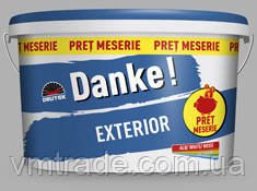 Краска для наружных работ Danke Exterior, 15л