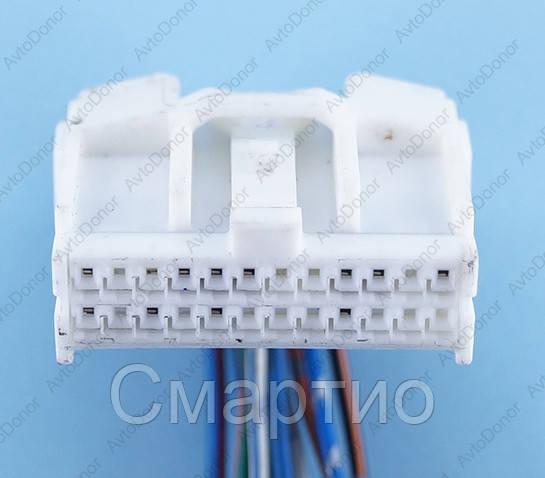 Разъем электрический 24-х контактный (28-12) б/у
